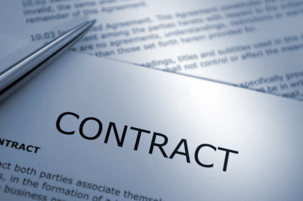 ラボ専用の契約書を作る(その2)